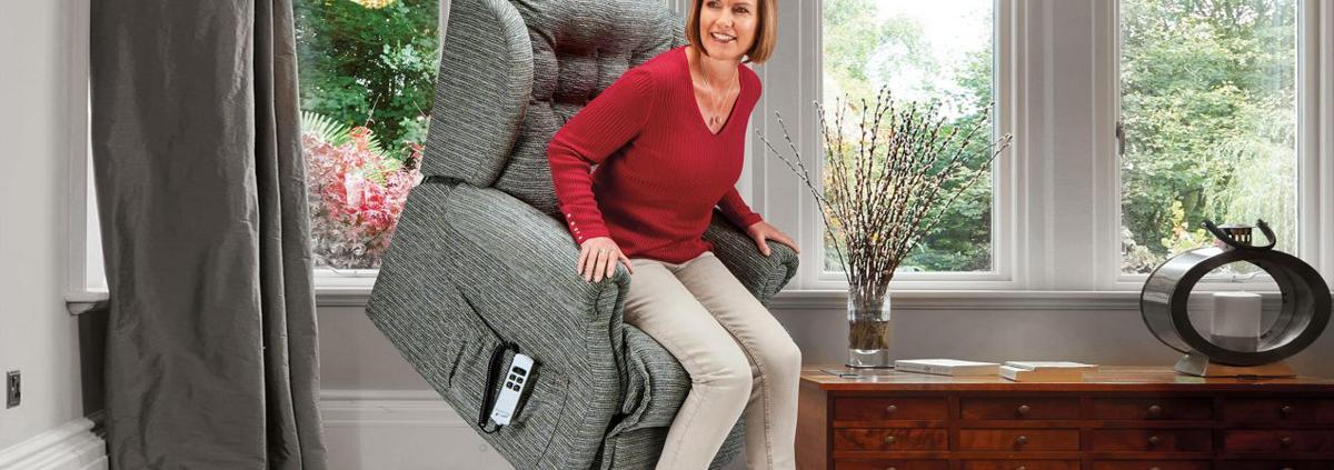 Fabric Riser Recliner Chairs