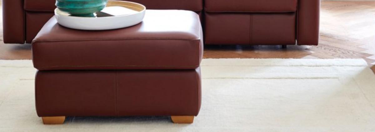 Leather Footstools