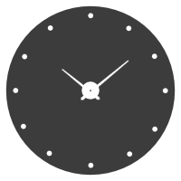 Simple Clock Icon